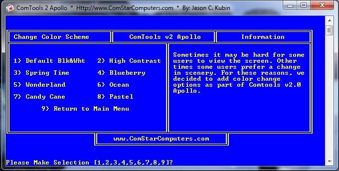ComTools v2.0 Apollo